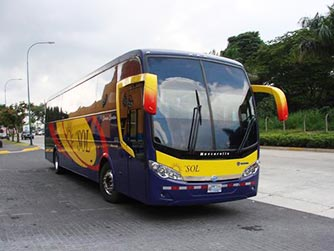 Bus from Transporte del SOL, El Salvador
