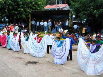 Winterfest in Perquin, El Salvador